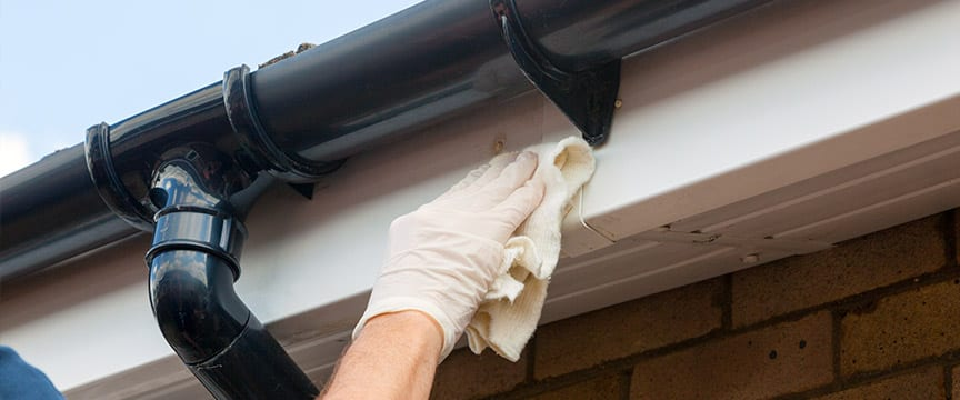 gutter cleaning highland il